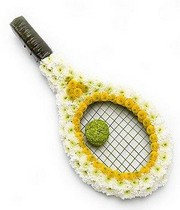 Tennis Racket Tribute.