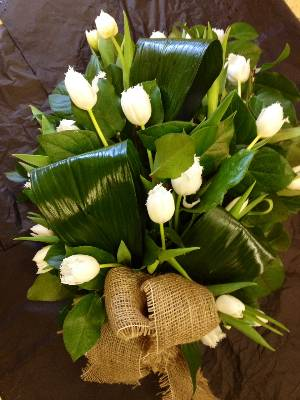 White Tulip Sheaf