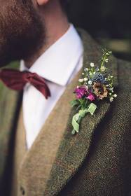 Mens Thistle Buttonhole
